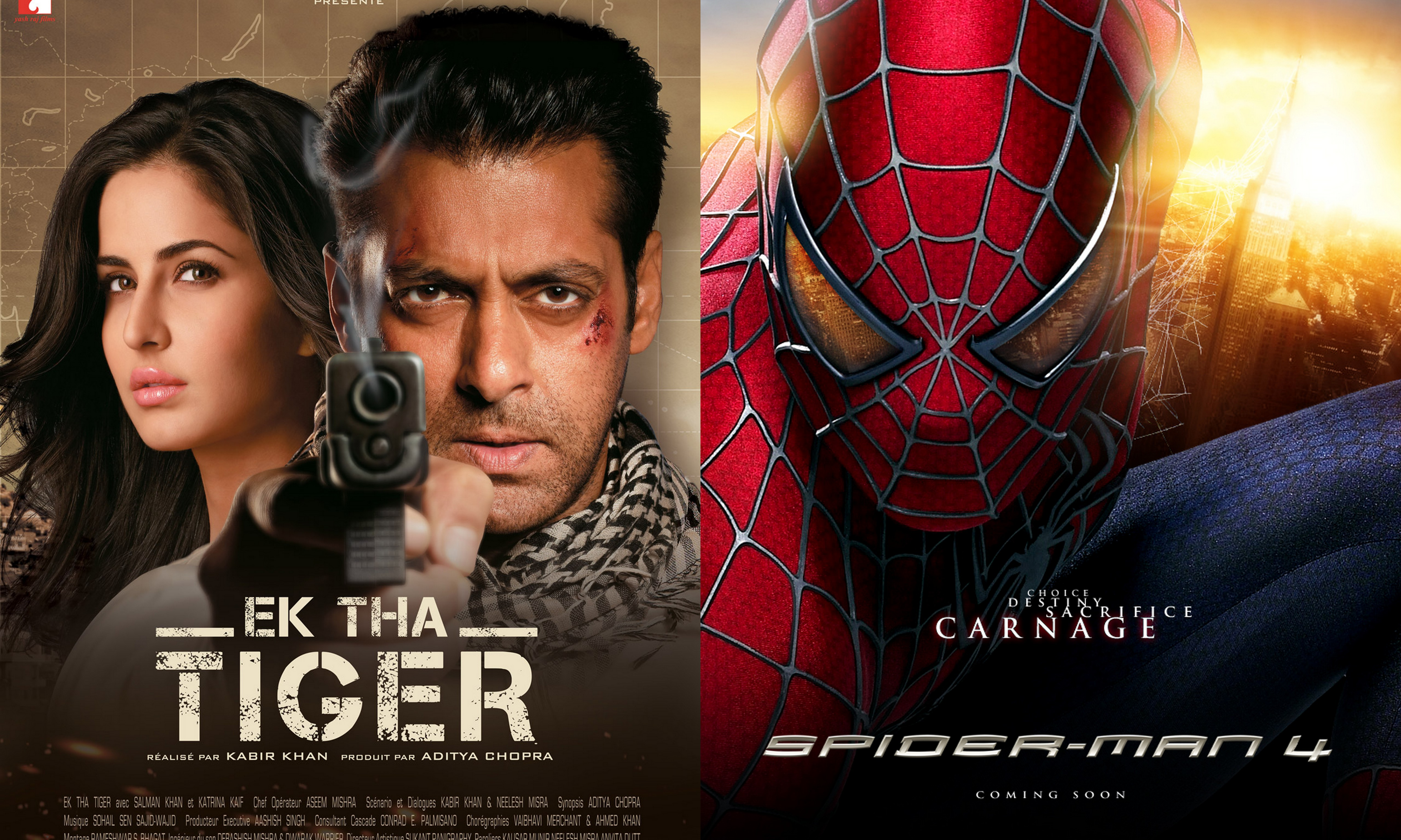 Ek Tha Tiger Will Be Shown With Spiderman 4