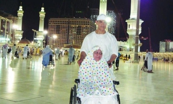 Aamir Khan mother on haj