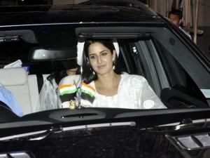 Katrina Kaif spotted at Salman Khan's house during Eid