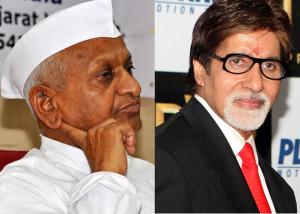 Amitabh Bachchan does an Anna Hazare in Satyagraha