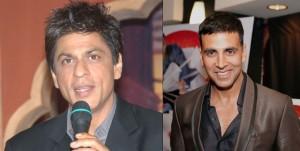 Shahrukh Khan Overpowers Akshay Kumar's stardom
