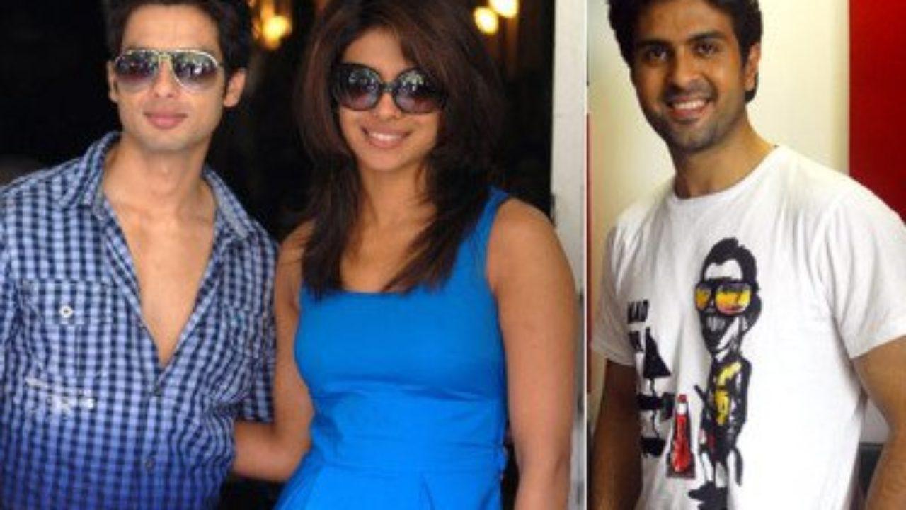 on Priyanka Chopra dating Shahid Kapoor