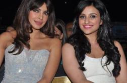 Parineeti Chopra with Priyanka Chopra