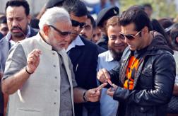 Narendra Modi - Salman Khan