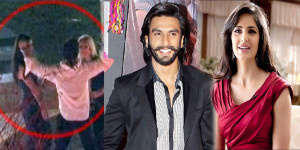 OMG VIDEO - Ranveer Singh's Act with Katrina Kaif Caught on Camera