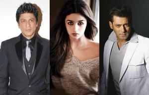 Alia Bhatt taunts Salman Khan and Shah Rukh Khan