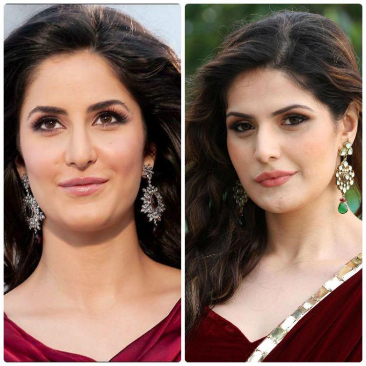 Katrina Kaif and Zareen Khan