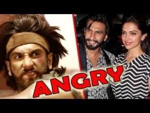 Ranveer Singh loses cool on Fan for Deepika