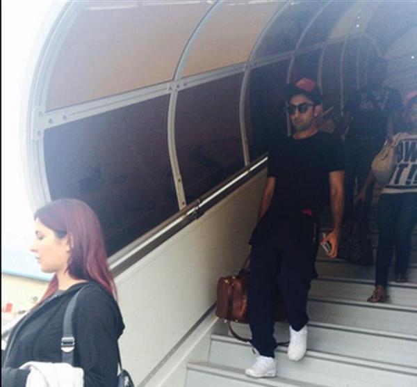Spotted - Ranbir Kapoor & Katrina Kaif holidaying in Maldives