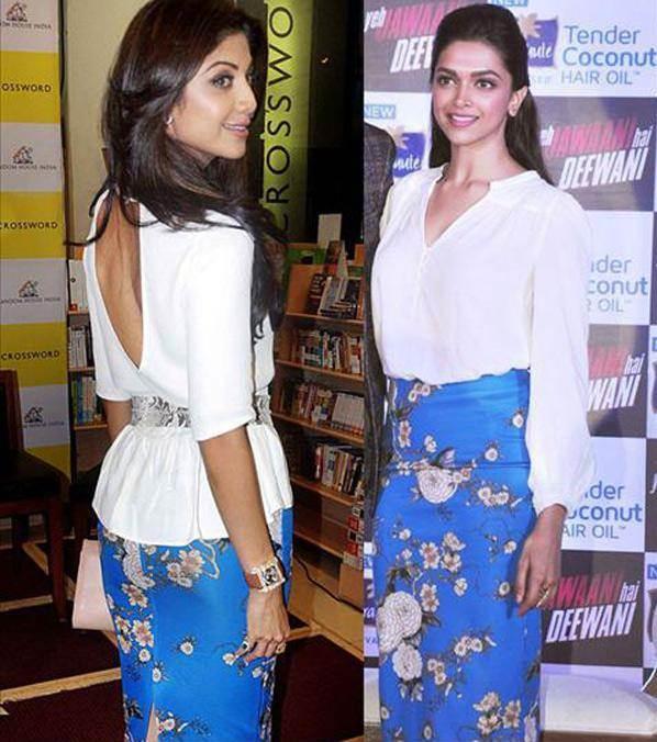 Deepika Padukone – Shilpa Shetty