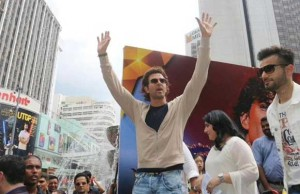 Hrithik Roshan rocks the streets of  Kuala Lumpur