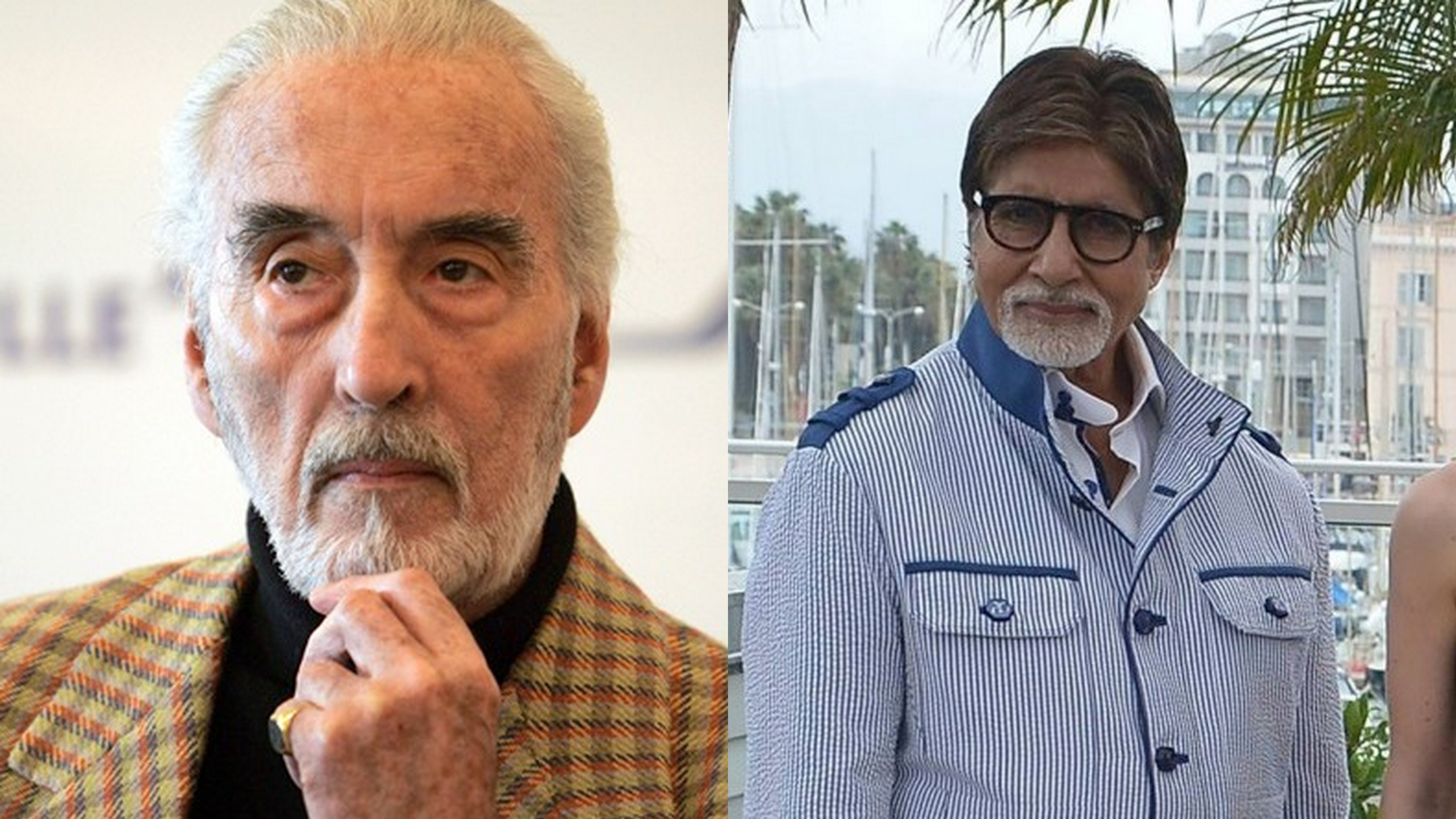 Amitabh Bachchan: Sad I missed opportunity to host Christopher Lee