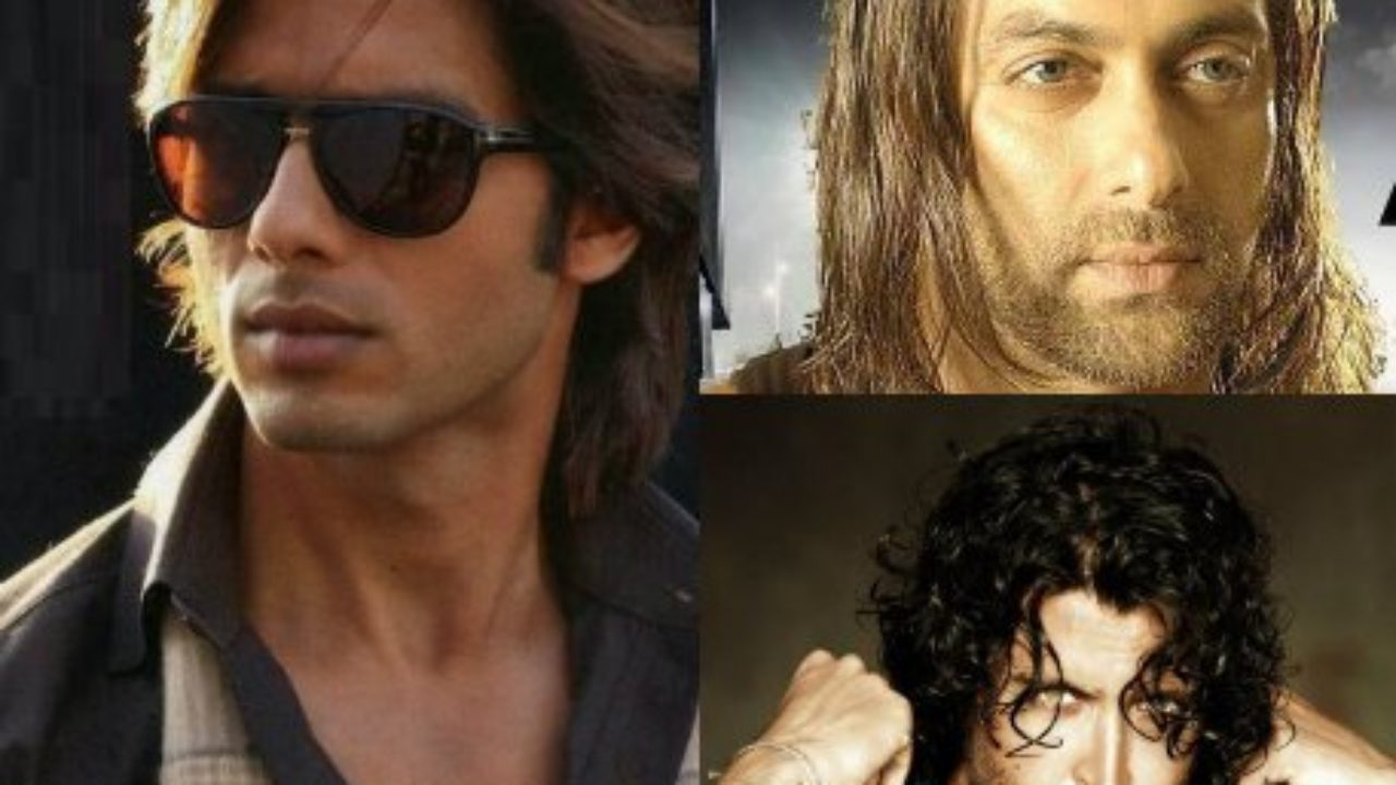 Bollywood Actors who look handsome in long hair  Bollywood Bubble