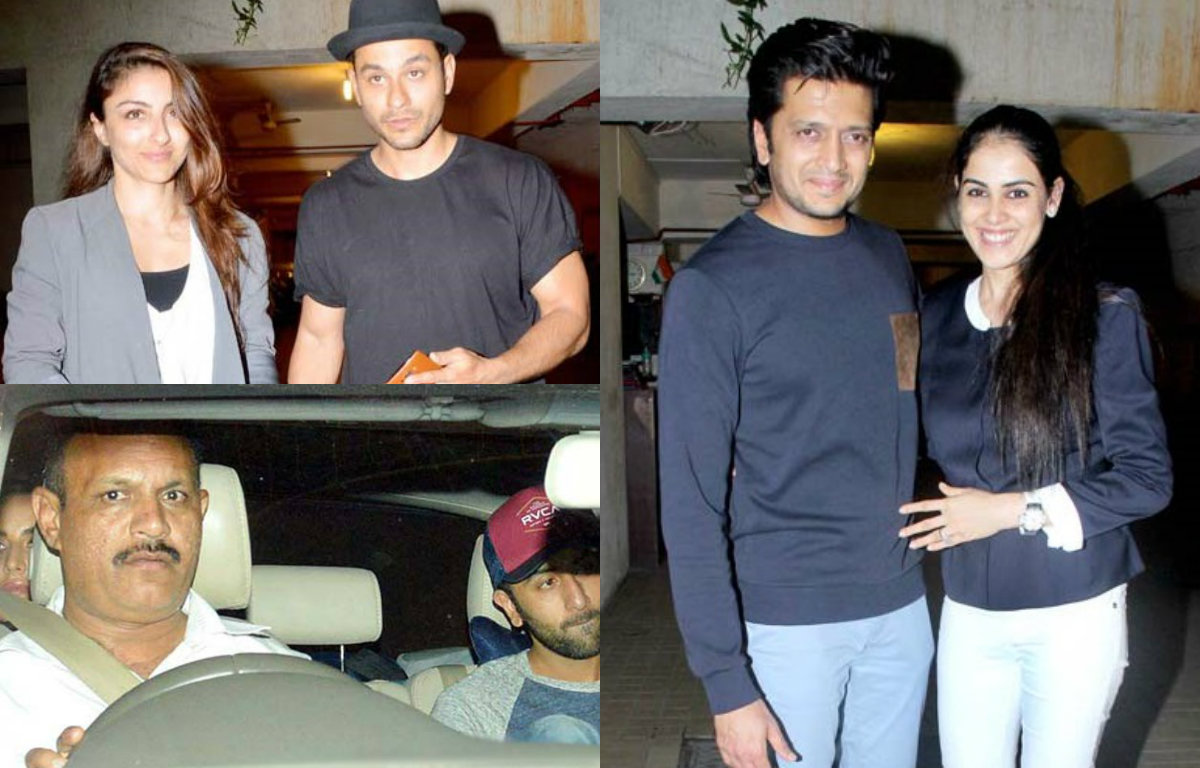 Bollywood celebrities at Kareena Kapoor's bash
