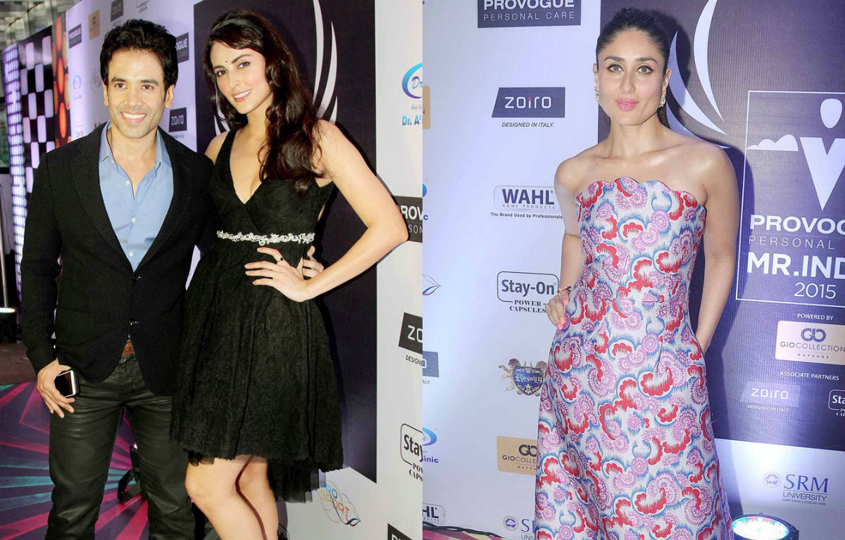Kareena Kapoor Khan and other stars at Provogue Mr India pageant