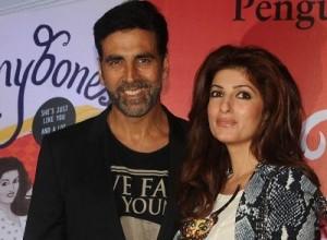 Twinkle Khanna : Akshay Kumar has few extra inches than others