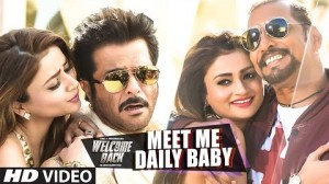 Watch - Nana Patekar, Anil Kapoor in 'Meet Me Daily Baby' from 'Welcome Back'