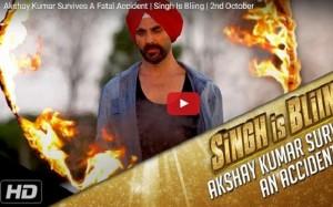 Akshay Kumar survives a freak accident  on 'Singh Is Bliing' sets
