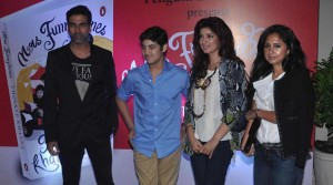 Twinkle Khanna launches her book Mrs Funnybones