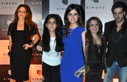 Sussanne Khan and family