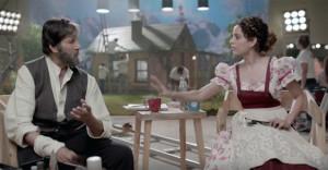 Watch - Amitabh Bachchan, Kangana Ranaut in Boroplus ad