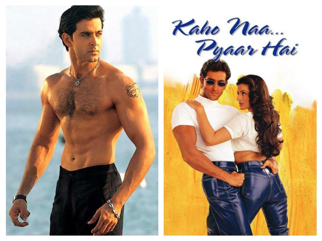 """Hrithik Roshan in """"Kaho Na..Pyaar Hai"""" - Bollywood Bubble ..."""