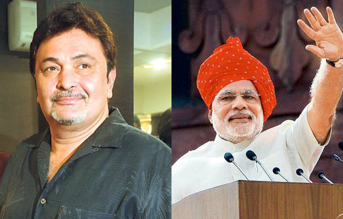Image result for pm modi and rishi kapoor