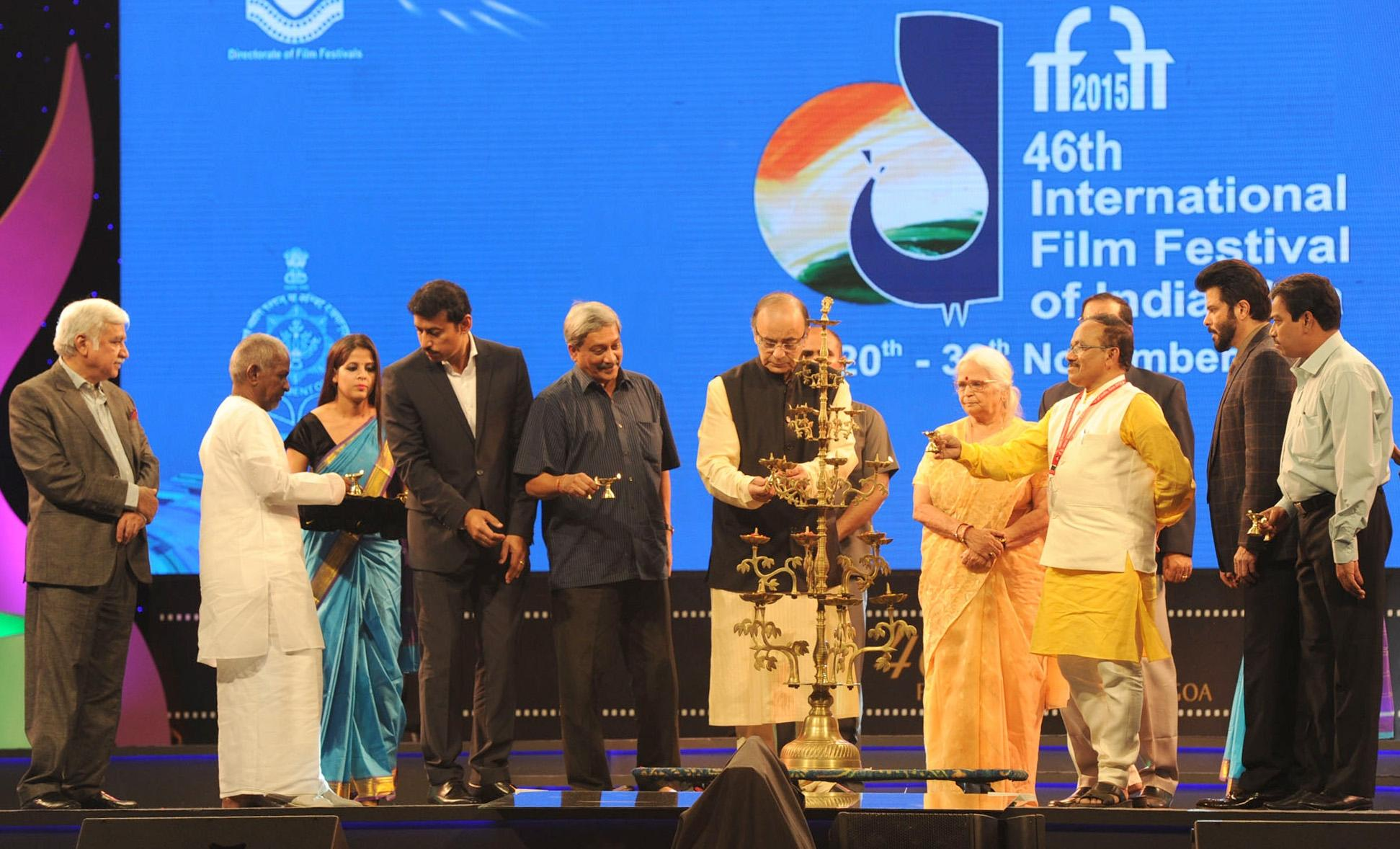 Celebrities at 46th International Film Festival of India - inauguration