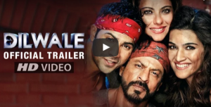 'Dilwale' Trailer starring Shah Rukh Khan, Kajol, Varun Dhawan and Kriti Sanon