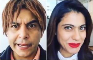 Check Out : Kajol does a Shopkeeper Dubsmash and its too cute!