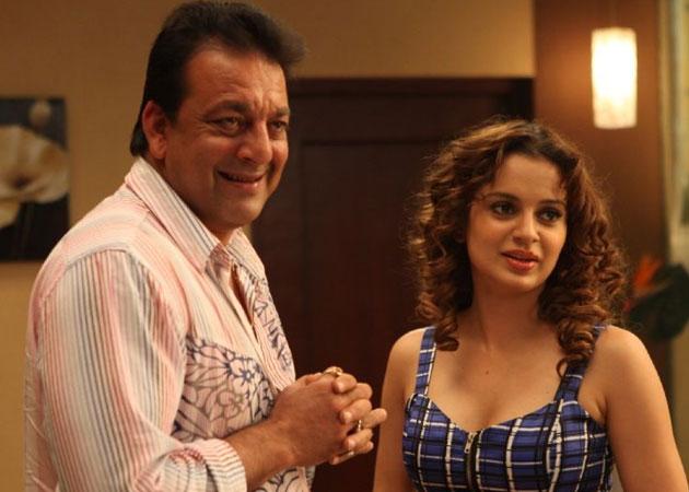 Kangana Ranaut to be Sanjay Dutt's wife in his biopic?