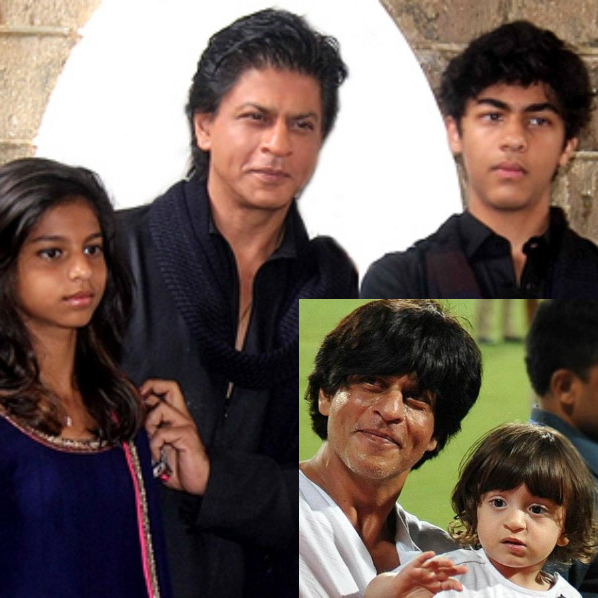 Shahrukh Khan Family 2015
