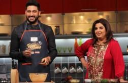 Abhishek Bachchan cooking