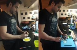 Emraan Hashmi Cooking
