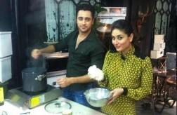 Imran Khan cooking