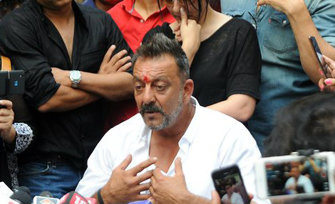 What was the toughest decision Sanjay Dutt took while in jail?
