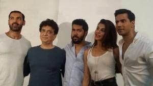 WATCH: John Abraham, Varun Dhawan wrap up 'Dishoom'