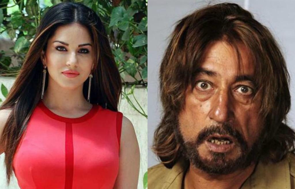 Sunny Leone and Shakti Kapoor