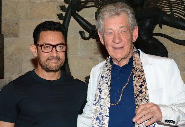 Aamir Khan and Ian McKellen discuss Shakespeare at MAMI Film Club launch