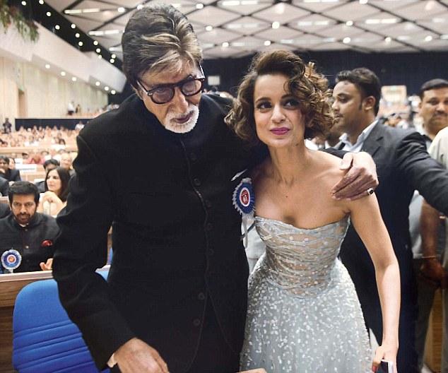 National Awards 2016: Amitabh Bachchan and Kangana Ranaut receive awards from President