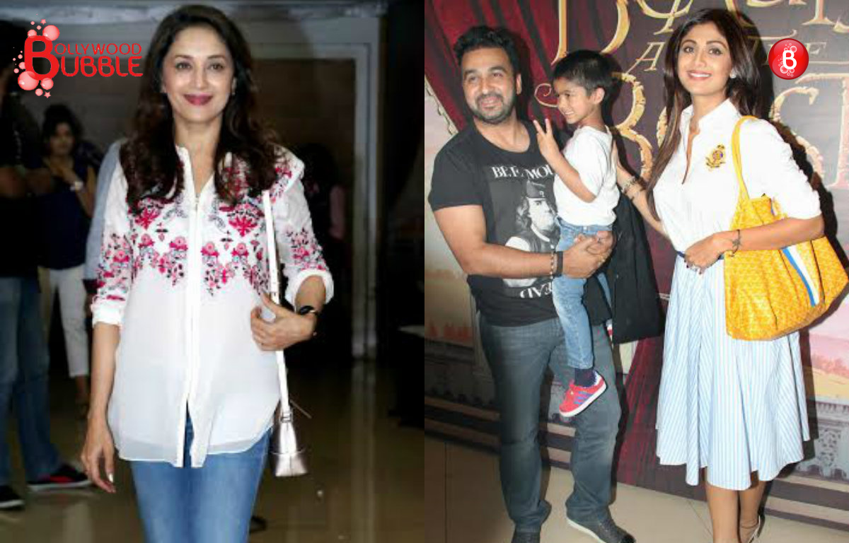 PICS: Madhuri Dixit, Shilpa Shetty at their stylish best at 'Beauty And The Beast' musical event