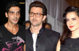 Zayed Khan, Hrithik Roshan and Kangana Ranaut