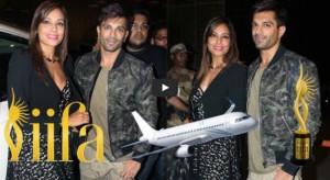 Watch: Tiger Shroff, Bipasha Basu and other celebs leaving for IIFA 2016