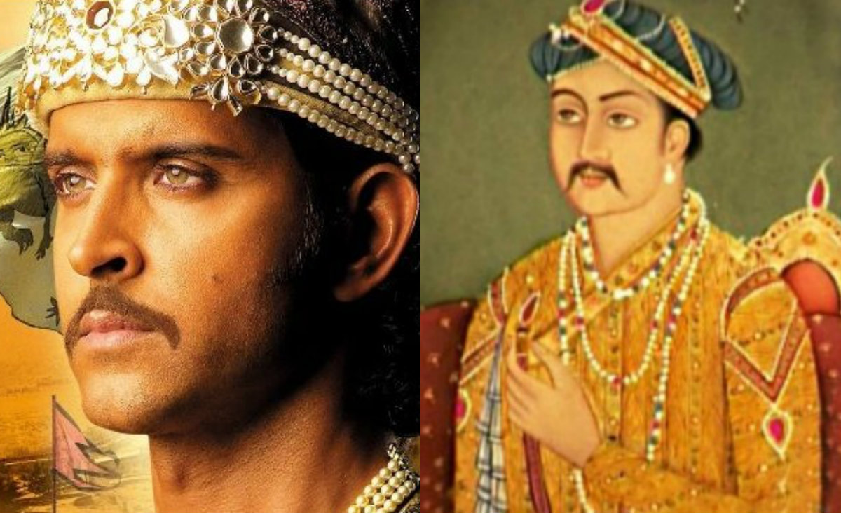 Emperor Akbar in 'Jodha Akbar'