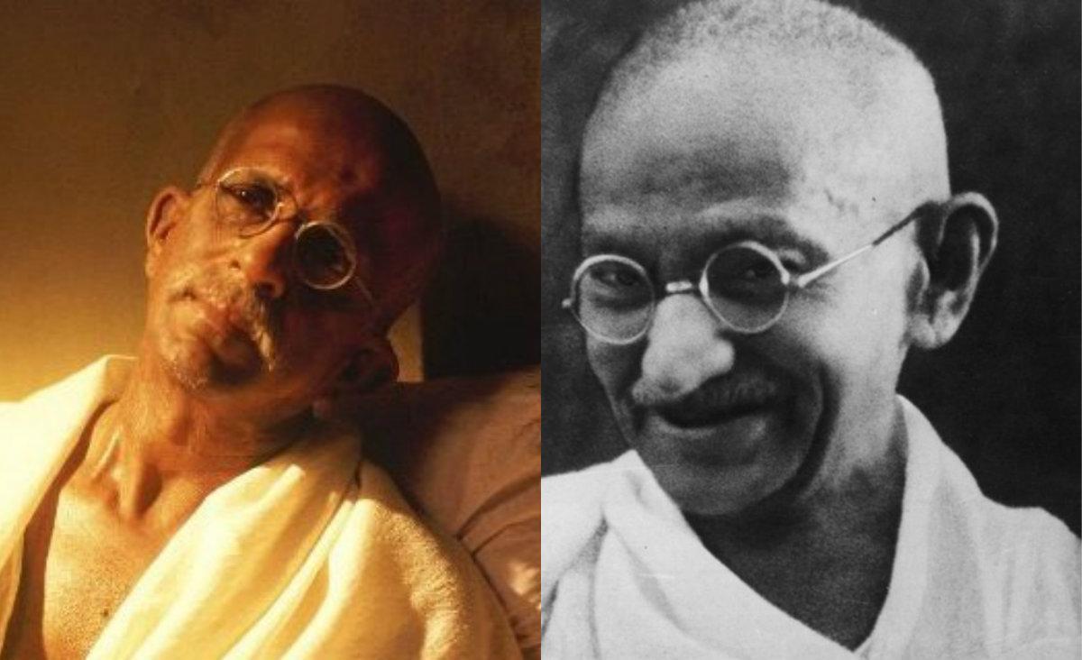 Mahatma Gandhi in 'Gandhi My Father'