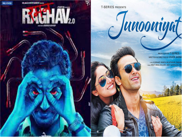 'Raman Raghav 2.0' and 'Junooniyat' first weekend business is poor