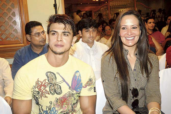 Sahil Khan and Ayesha Shroff