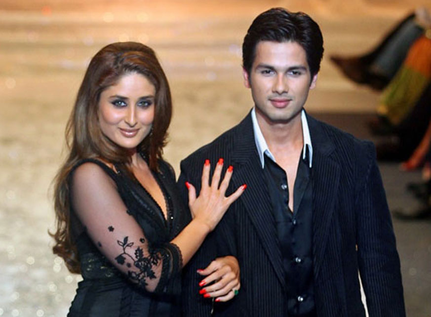 Shahid Kapoor and Kareena Kapoor's romance tale ended
