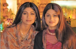 Shilpa Shetty and Shamita Shetty