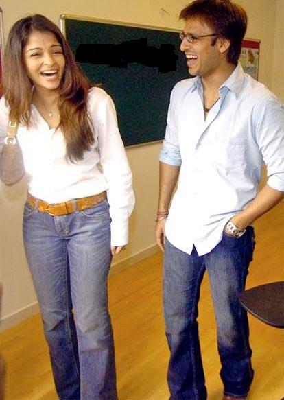 Vivek Oberoi and Aishwarya Rai